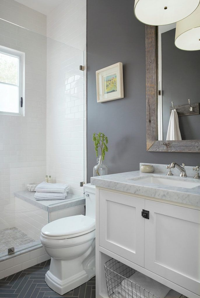 How To Pick The Right Paint Color For Your Bathroom Bathroom Design Small Bathroom Remodel Master Small Master Bathroom