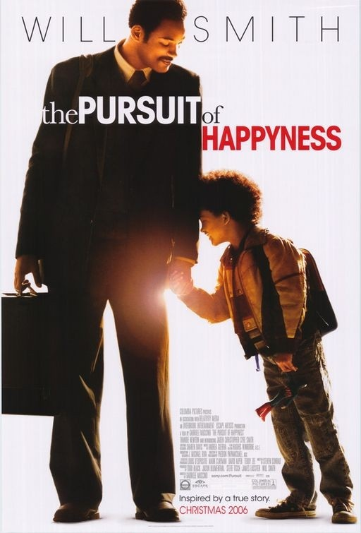 The pursuit of happyness.  Great movie about a guy raising a kid on his own while trying to achieve his dreams.  He does quite well.  Click on the link about to go to the best scene in the movie!  Support the message by buying the showcased media through amazon.com (through our online store).  http://www.AttorneySteveStore.com/inspirational-movie
