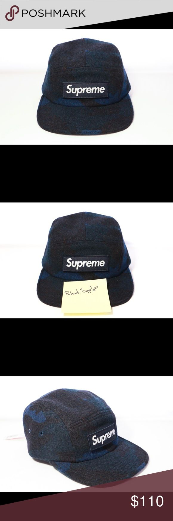 Supreme Camo Wool Camp Cap FW17 Navy Blue (OS) Supreme Camo Wool Camp Cap FW17 Navy Blue (OS) $100 Brand new DS SUPREME BOGO hat. 🔥 Check out IG @potent.supplyer for more!        Supreme Jordan Nike kobe 8.5 royal blue shoes foams foamposite foamposites icy ftp palace Tommy Hilfiger jacket red vintage Supreme Accessories Hats