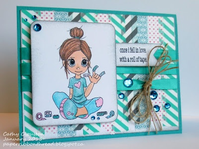 Paper, Ribbon, and Thread: Craft Your Passion #146 Totally Teal (January 2013)