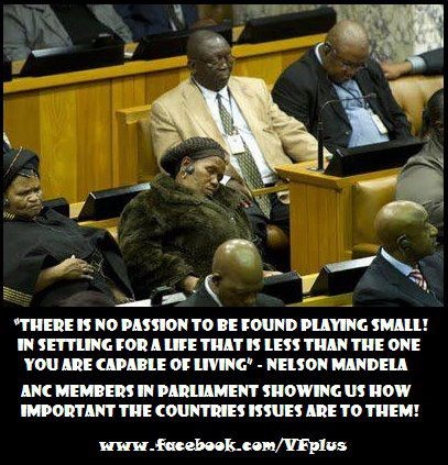 the committed south african govt