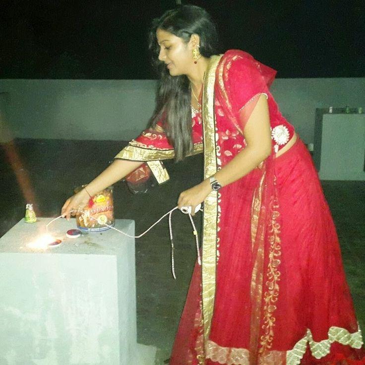 Chithra Celebrates Diwali