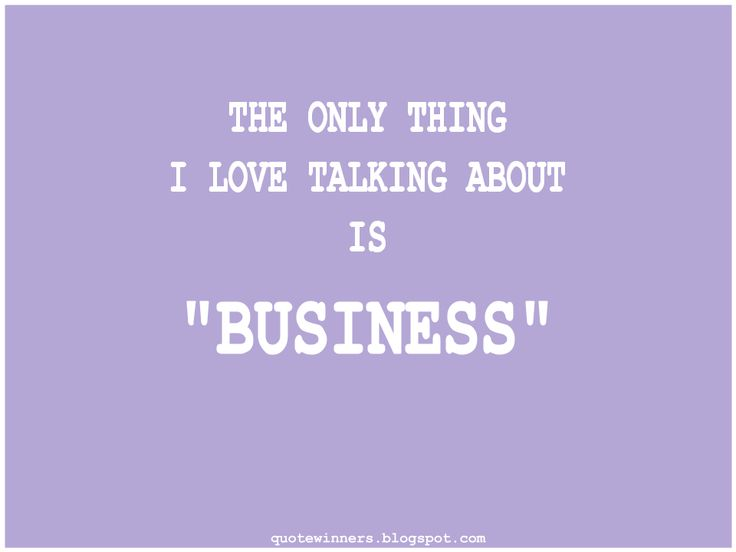 "Success Quotes: Quote 8: the only thing i love talking about is ""b..."