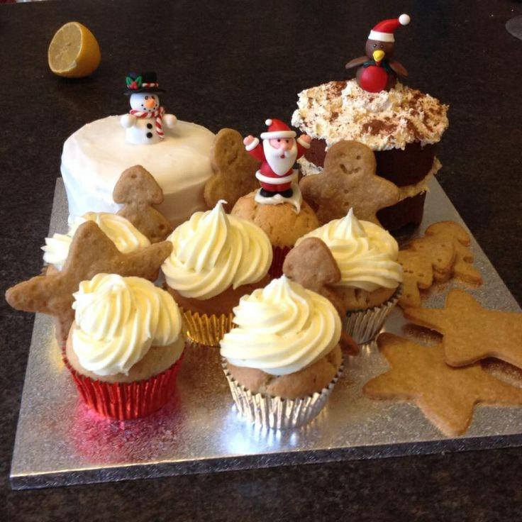 Christmas cake - something for everyone