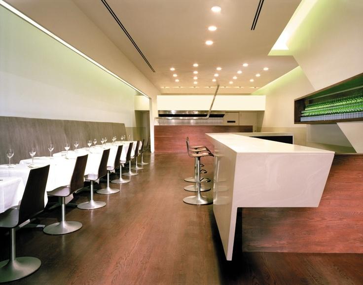 Blackbird - Chicago  Chef - Paul Kahan (James Beard for Outstanding Chef) & Design by Design Bureaux (Thomas Schlesser)