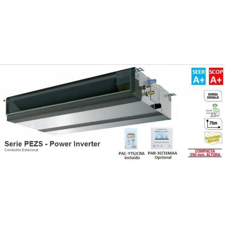 Modelo  PEZS-71VJA  Sistema PEZS-71VJA Power Inverter  Con una potencia de 6106 Frifg/6880 Kcal  La gama Power Inverter ofrece una serie de mejoras tecnológicas que transforman a estas unidades de aire acondicionado en equipos altamente eficientes con coeficientes energéticos estacionales A+/A+. De esta manera se consigue un gran ahorro energético gracias a la importante reducción en el consumo.  Oportunidad: 2.079€