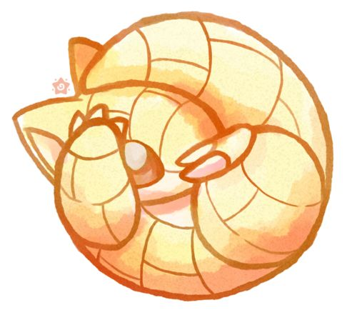 sandshrew <3 I feel it is so much like me :) favourite pokemon