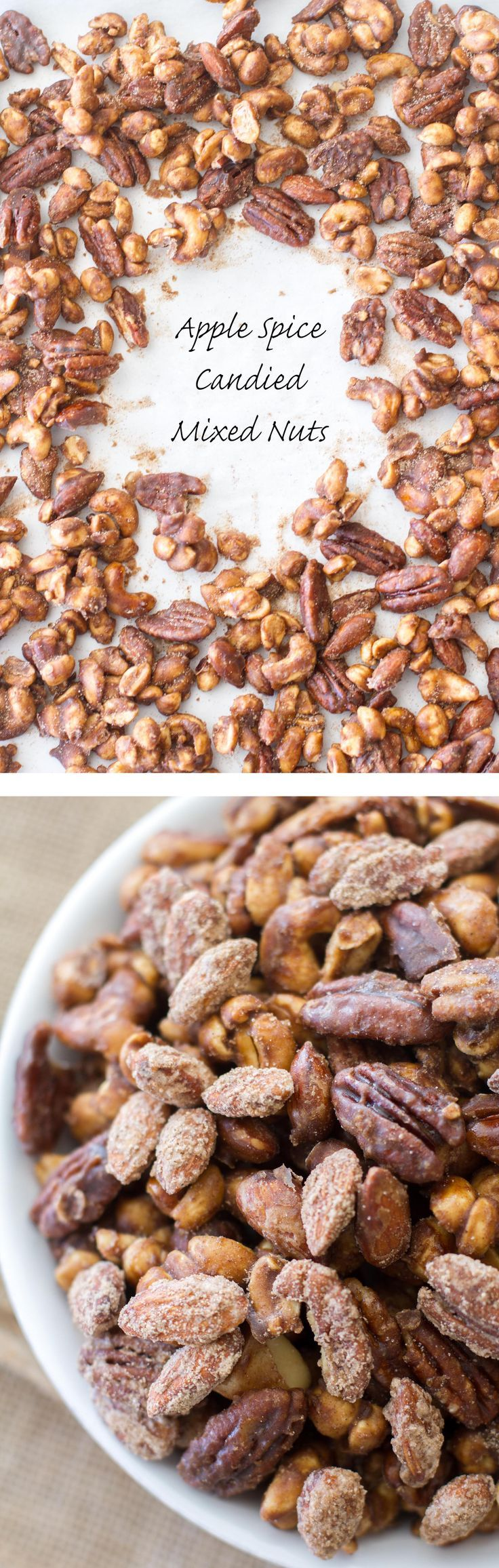 Apple Spice Candied Mixed Nuts | Recipe | Holiday parties ...