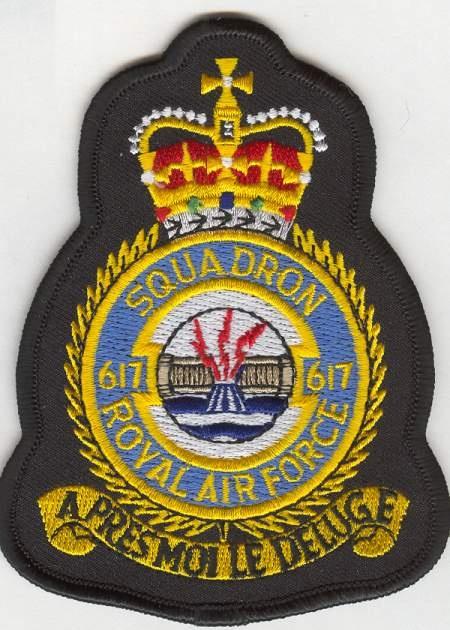 RAF 617 Sqn crest