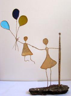 Figuren Aus Draht Selber Machen 24 besten papierdraht bilder auf schnur papierkunst