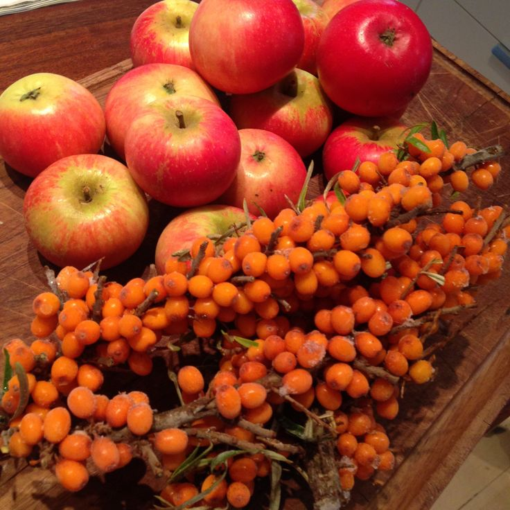 Havtorn-æble marmelade