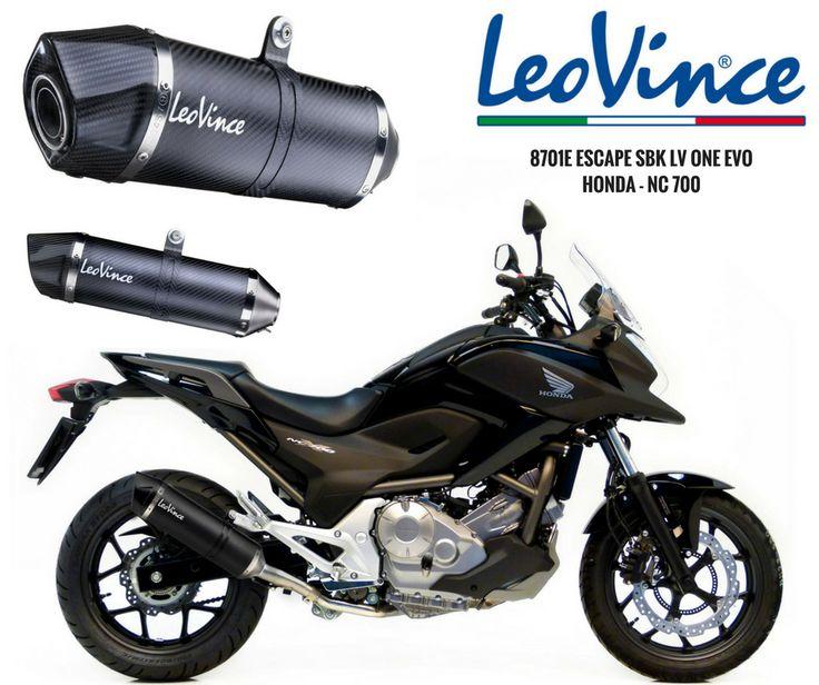 LEOVINCE | 8701E para HONDA NC 700  #lusomotos #leovince #escape #LVONEEVO #OneEvo #carbono #inox #estrada #andardemoto #estilodevida #verão #Honda