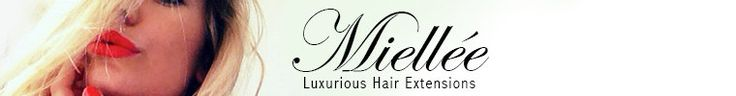 Miellèe has AMAZING hair. Tape in extensions and clip in. Human hair.