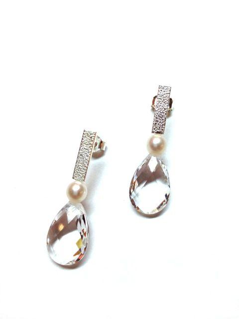 Boucles d'oreilles, Robert Langlois en vente chez Dominic Dufour Joaillier, 150 chemin de la Grande-Côte, Rosemère.
