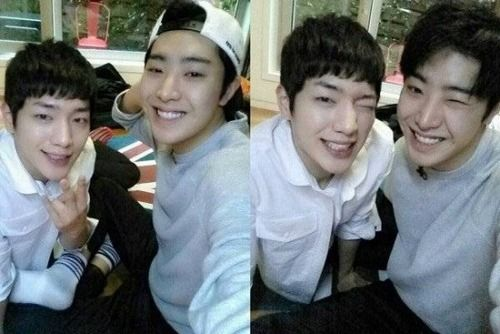 Seo Kang Joon  Park Min Woo watching these two on Roommate and Min Woo is definitely my bias between these two flower boys, such a sweetheart!