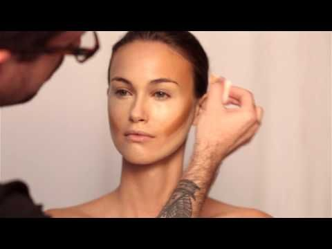 How to Contour & Highlight NATURALLY Step by Step Makeup Tutorial using Synthetic Brushes - YouTube