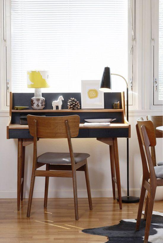 Mid Century Modern Home Office best 25+ mid century desk ideas on pinterest | retro desk, cool