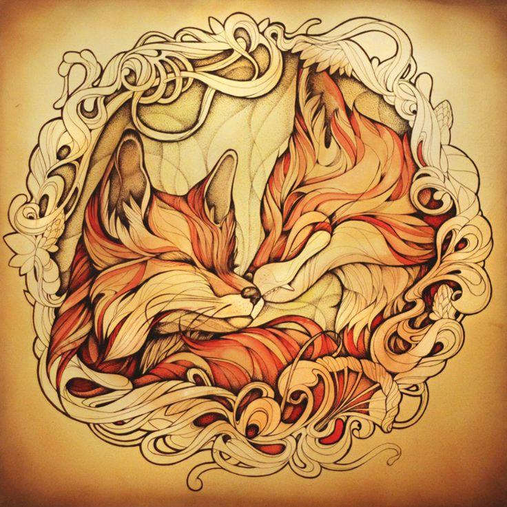 49 Best Ink Me Images On Pinterest: 232 Best Images About Fox Spirit On Pinterest