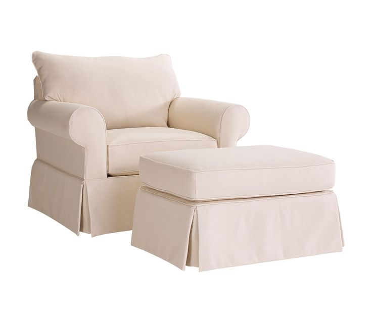 Uptown Traditional Chair and Ottoman Set by Broyhill Furniture