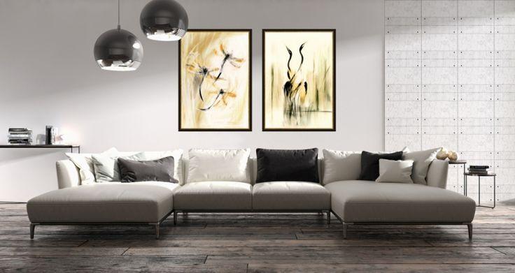 Nowoczesne obrazy w nowoczesnych i stylowych wnętrzach - Galeria w Chmurach.  Szlachetna symbolika, eleganckie kompozycje, ekskluzywne zdobienie, światowe wystawy.