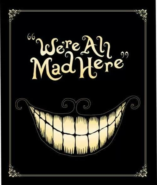 Disney Alice In Wonderland Quote: Mad Hatter Alice In Wonderland