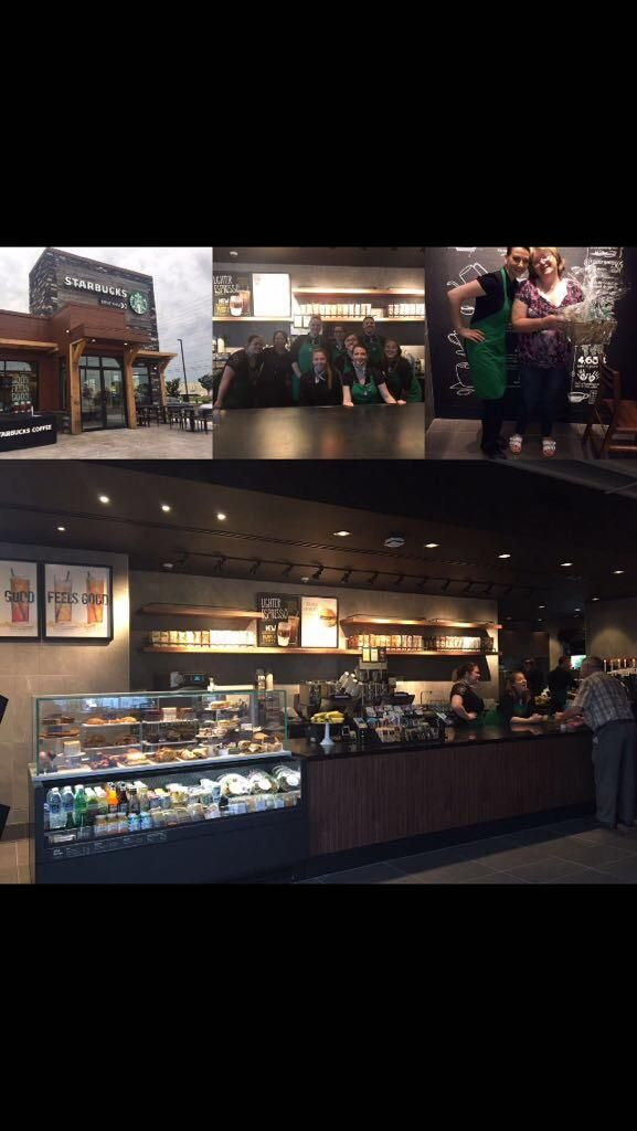 Happy one week to our brand new store! Located in Barrie Ontario Canada. #starbucks #coffee #love #frappuccino #latte #tea #yummy #gift
