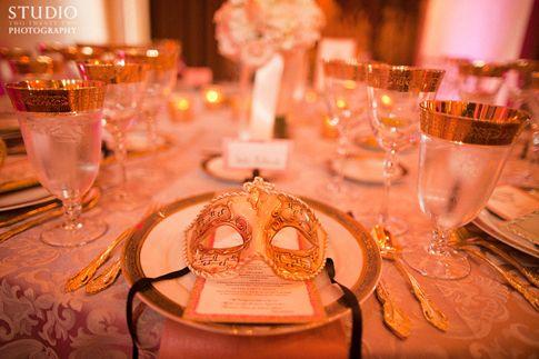 Venetian Meets Marie Antoinette Wedding