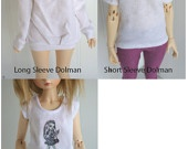 $12 BJD / Dollfie CREATE your own SHIRT Kawaii and My little pony
