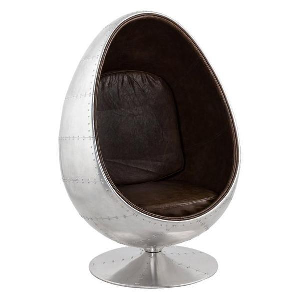 Brilliant Bordeaux Metal Egg Chair Swivel Cair Luxury Designer Accent Beutiful Home Inspiration Xortanetmahrainfo