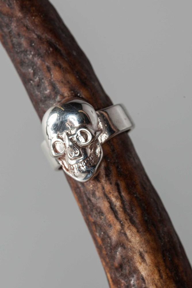 Windfall Jewellery jewellery is hand made with love #handmade #silver #skull #ring #kysa