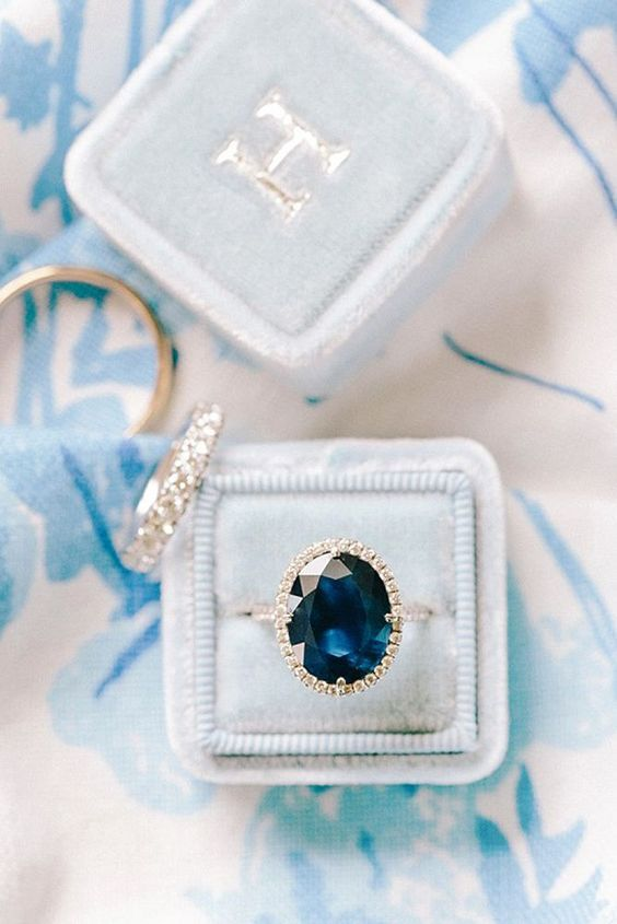 15 Vivid Sapphire Engagement Rings ❤️ Blue sapphire is the most popular and traditional gemstone. Look our gallery of dazzling sapphire engagement rings that includes vintage, classic and modern styles. See more: www.weddingforwar…