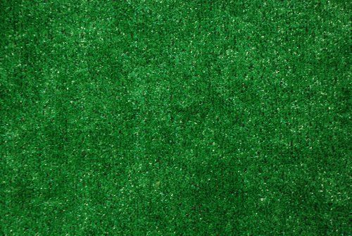Indoor/Outdoor Green Artificial Grass Turf Area Rug 6u2032x8u2032. Details At