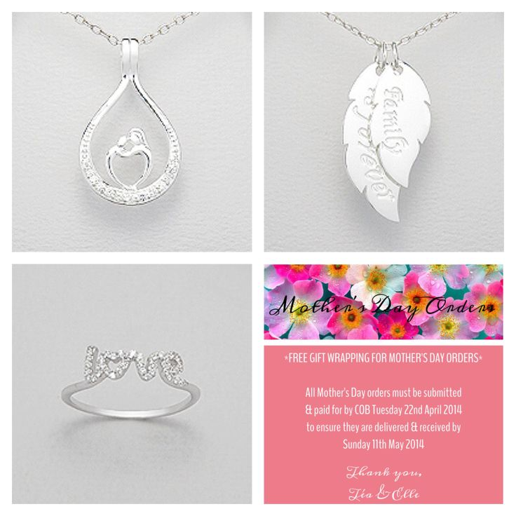 Perfect for Mother's Day! Order at www.facebook.com/TeaAndElle