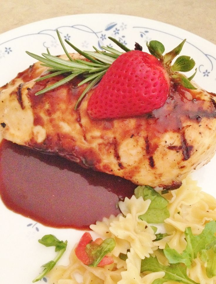 ... sauce forward grilled chicken with strawberry rosemary sauce recipes