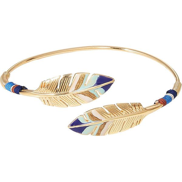 Gas Bijoux Duality Penna 24kt Gold-Plated Bracelet (7.860 RUB) ❤ liked on Polyvore featuring jewelry, bracelets, multicolored, gas bijoux, tri color bangles, multicolor jewelry, multi color jewelry and polish jewelry