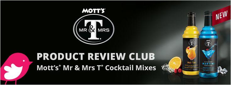 New Product Review Club Offer / Club des bancs d'essai : Mott's* Mr