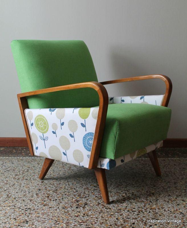 Les 25 meilleures id es de la cat gorie fauteuil ann e 50 for Canape style annee 50