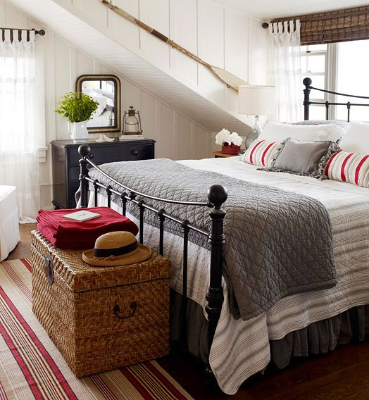 Nice bedroom style with good use of color that will work for all seasons.  It's about more than golfing,  boating,  and beaches;  it's about a lifestyle  KW  http://pamelakemper.com/area-fun-blog.html?m