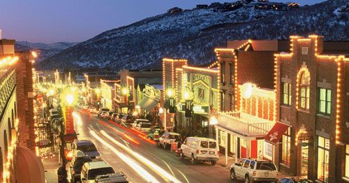 Downtown Park City is bustling - check it out during Sundance to get a celeb sighting!