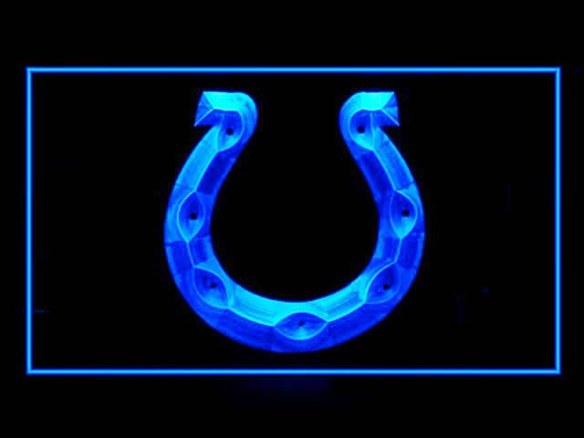 Indianapolis Colts Display Shop Neon Light Sign