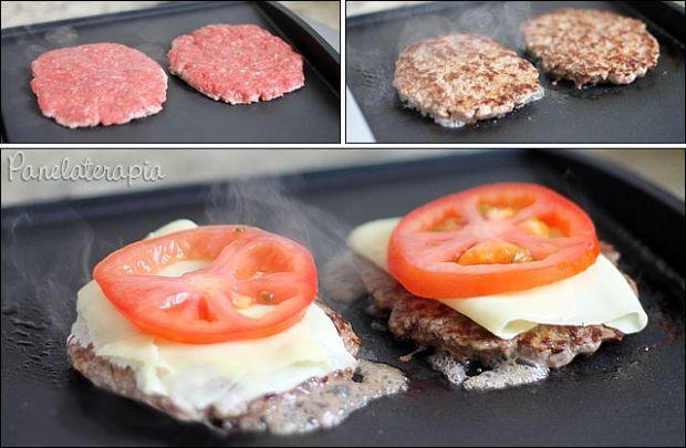 """Hamburger é uma das coisas que não consigo comprar osindustrializados. Acho muito ruim, embora agora existam versões """"gourmet"""", mas, os mais populares eu não curto. Por isso aqui em ca…"""