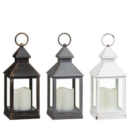 B Amp M Led Lantern Small Home Decor Decorative