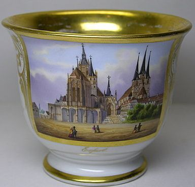 Erfurt Cathedral Aierfute scenérie Cup