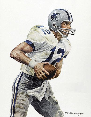 Roger Staubach of the Dallas Cowboys by Merv Corning   Flickr