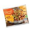 Quorn Biter (kjøtterstatning). Finnes i velassorterte dagligvarebutikker/helsekost.