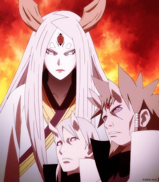 Ootsuki Kaguya Hagoromo & Hamura #Naruto