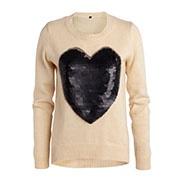 Sweater - 85% acrylic,8% mohair,7% wool
