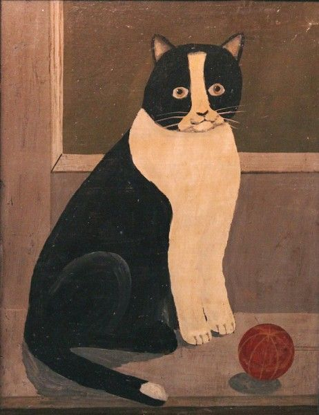 Cat Portrait, Probably Northeast America, 19th century