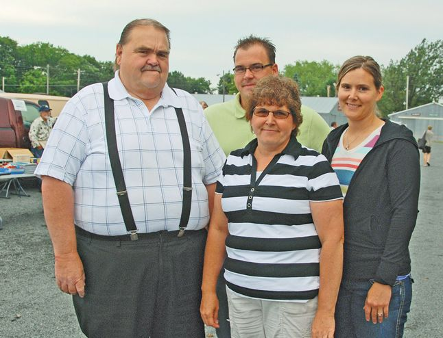 On Wednesday  July 4  Myron and Joan Haug  along with their family  will celebrate 40 years of making the Pine County Fair Grounds the place to be every Wednesday morning between April and October