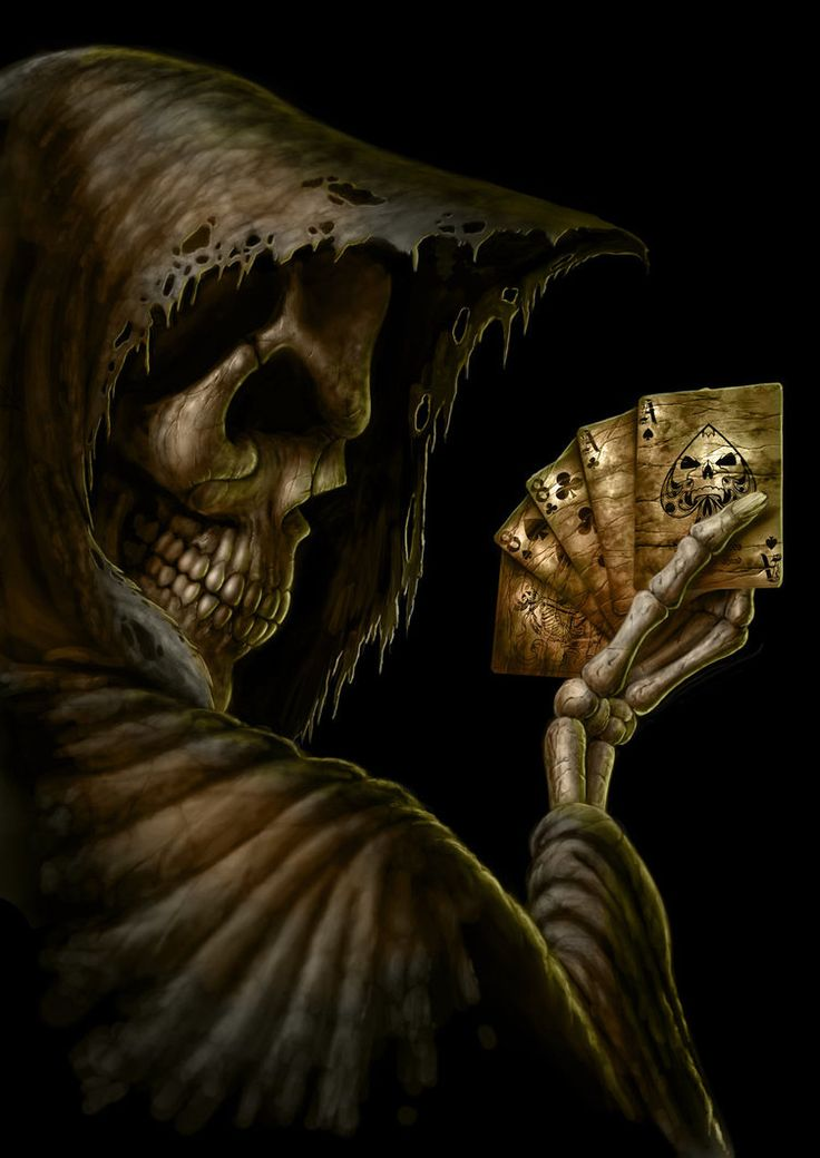read 'em and weep, the dead man's hand again. ✯ Dead Mans Hand  by *AndrewDobell*✯